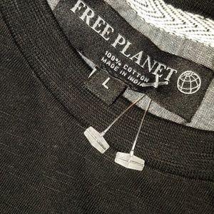 Free Planet Shirts - FREE PLANET Longhorn Cow Skull T-Shirt | NWT | L